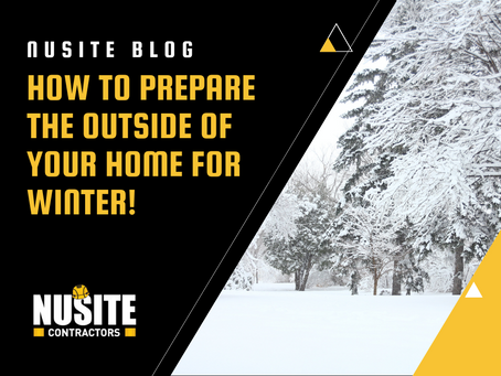 How to prepare the outside of your home for winter!