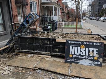 Basement Lowering Excavation