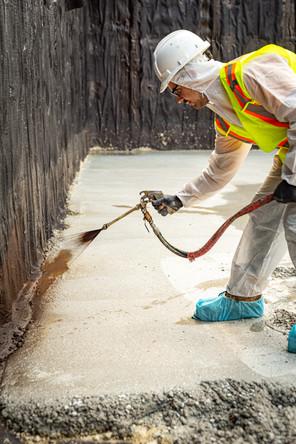 Spray Applied Waterproofing
