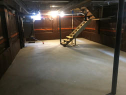Complete Lowered Basement
