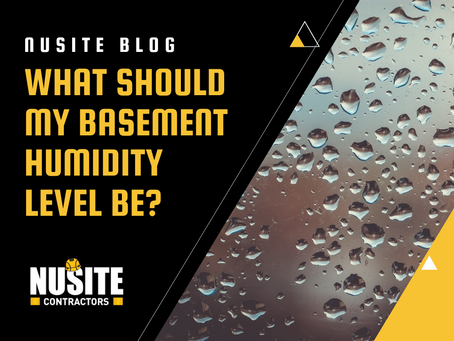 What Should My Basement Humidity Level Be?