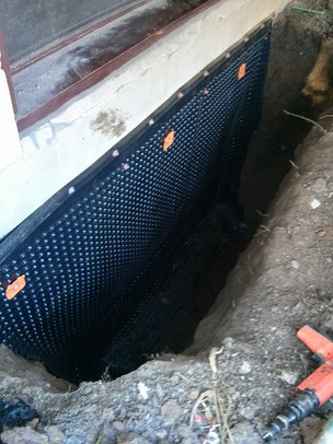 Exterior Waterproofing Window Well