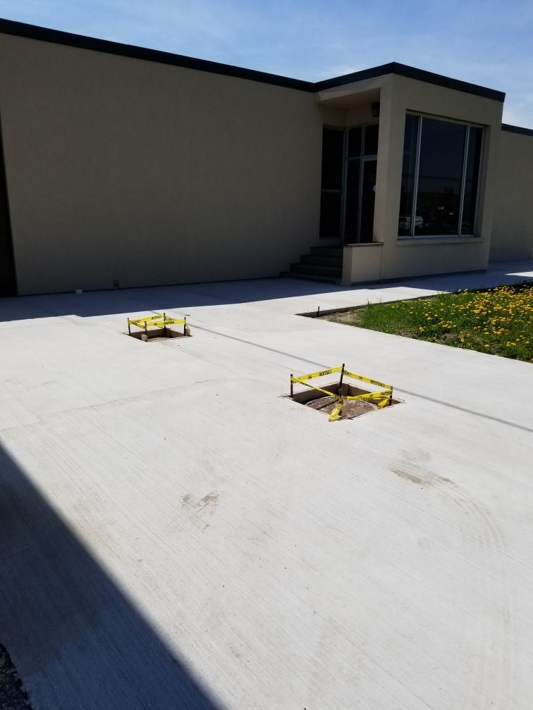 Side Walk/ Driveway