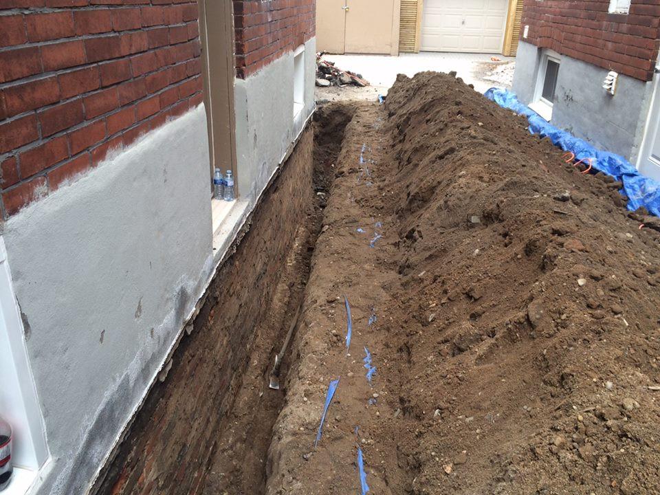 Exterior Excavation