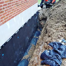 Exterior Waterproofing Membrane