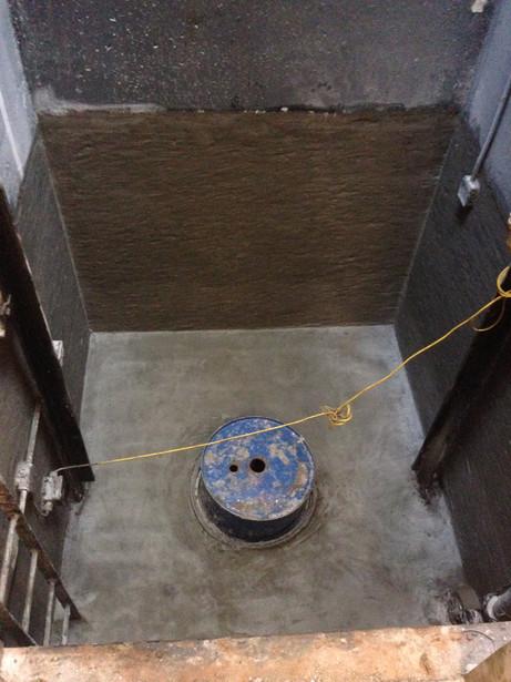 Elevator Pit/ Crystalline Waterproofing