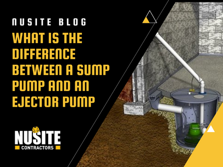 What is the Difference Between a Sump Pump and an Ejector Pump
