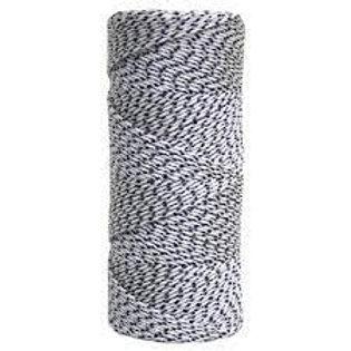Braided Line Mason (Black & White)