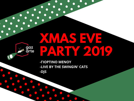 The Swingin' Cats Christmas Eve Party 24/12 @ Gazarte Roof Stage