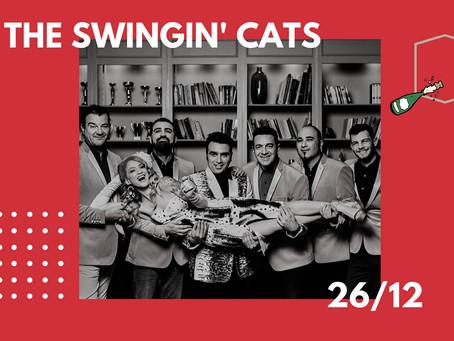 The Swingin' Cats Xmas Edition 26/12 @ Gazarte Roof Stage