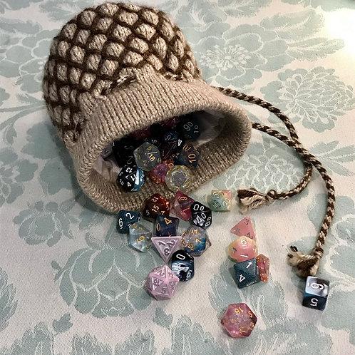 Tangle Thread Dice Bag Pattern