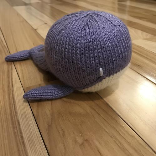 Whale - Purple