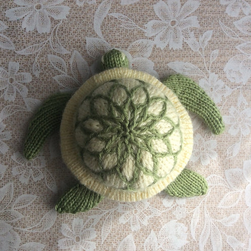 Baozi Baby Sea Turtle Knitting Pattern
