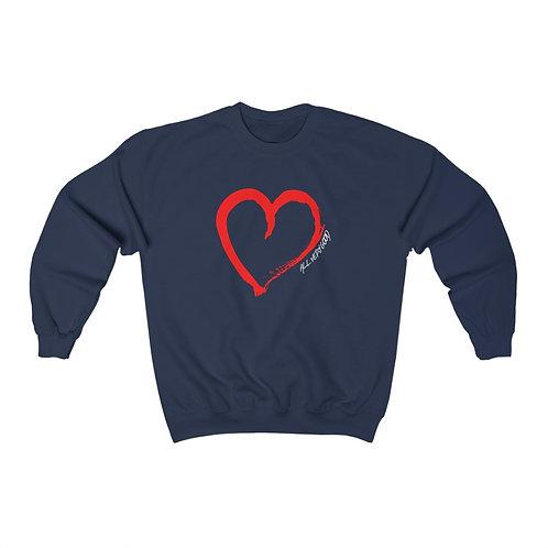 Big Heart Heavy Blend™ Crewneck Sweatshirt