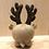 Thumbnail: Baozi Baby Reindeer Knitting Pattern