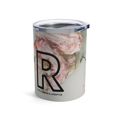 R With Crown Floral Tumbler 10oz