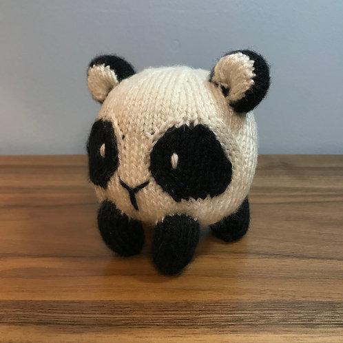 Bun Baby Panda Knitting Pattern