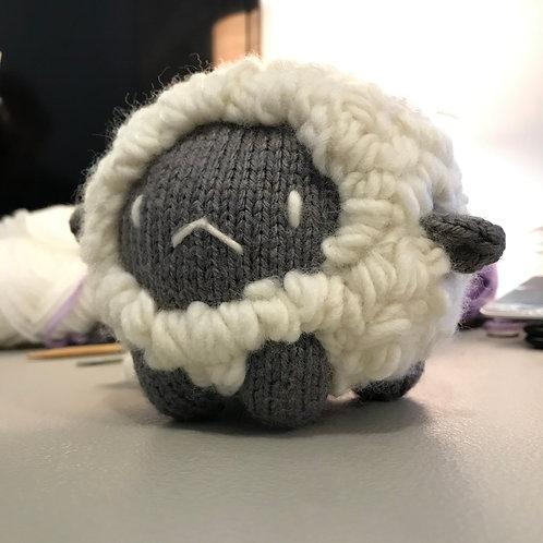Baozi Baby Sheep Knitting Pattern