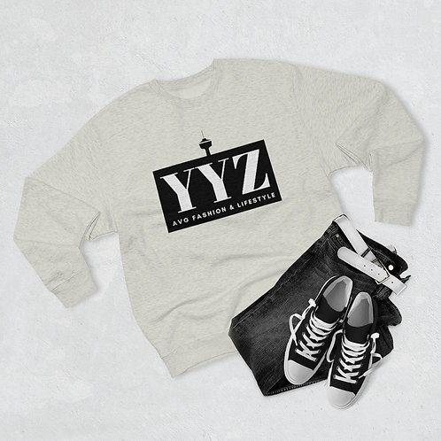 YYZ Unisex Premium Crewneck Sweatshirt