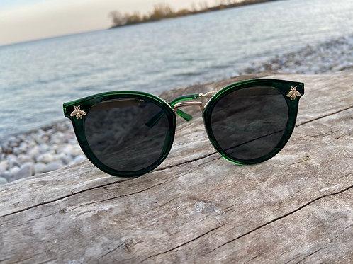 Women's Bee Sunglasses - Green