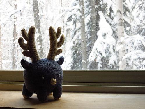 Baozi Baby Reindeer Knitting Pattern
