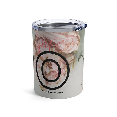 O With Crown Floral Tumbler 10oz