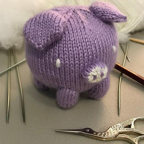 Bun Baby Pig Knitting Pattern