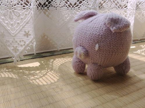 Baozi Baby Pig Knitting Pattern