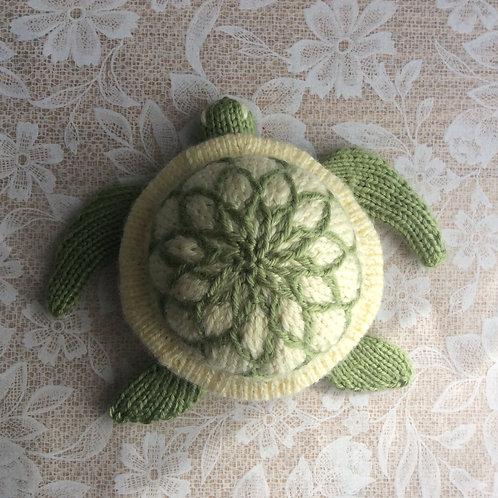 Bun Baby Sea Turtle Knitting Pattern