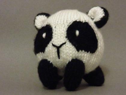 Baozi Baby Panda Knitting Pattern