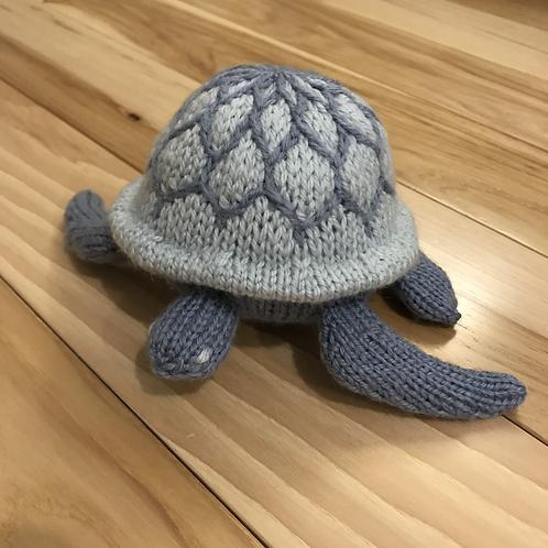 Sea Turtle -Medium Blue