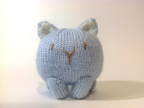 Baozi Baby Cat Knitting Pattern