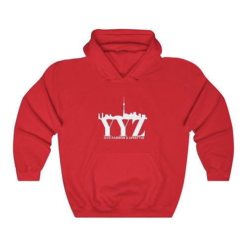 YYZ CN Tower View Hooded Sweatshirt