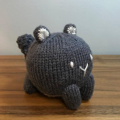 Baozi Baby Squirrel Knitting Pattern