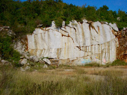 Breccia Carsica quarry