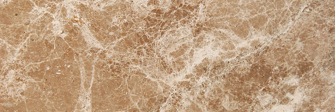 Pizzul - Emperador Light marble detail.j