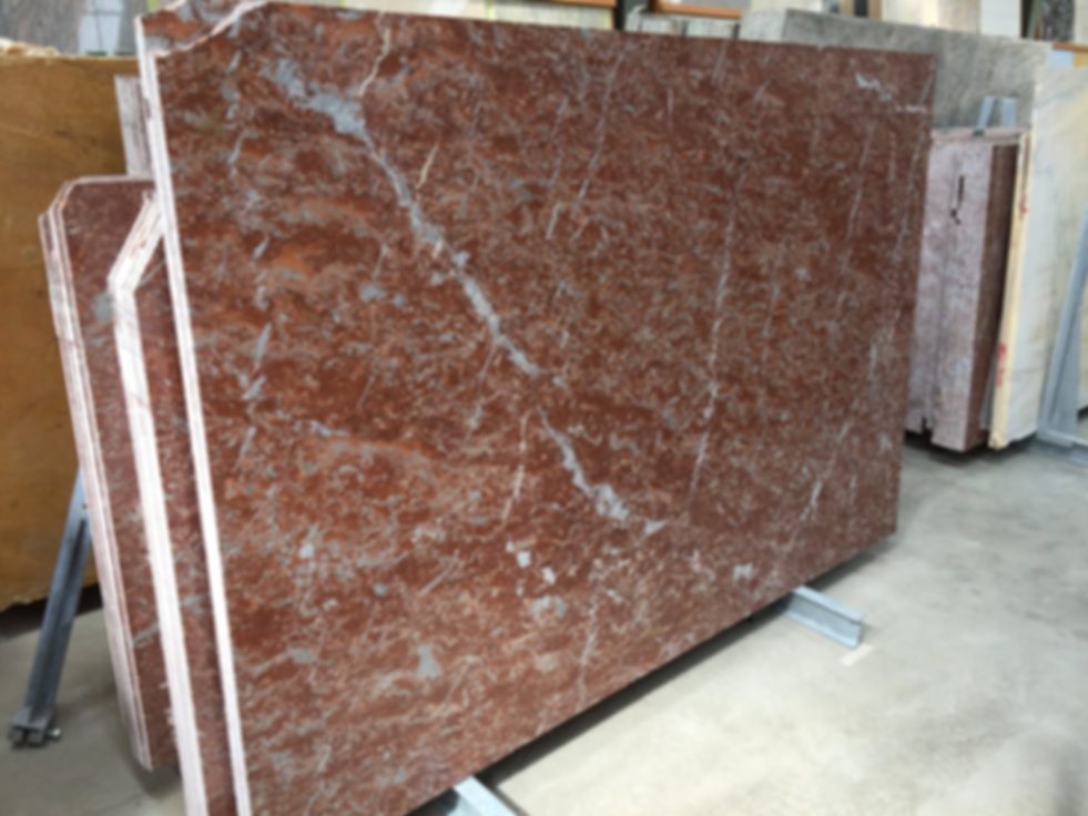 Pizzul - Tipo Rosso Francia marble slabs