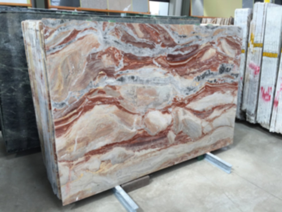 Pizzul - Arabescato Orobico marble slabs