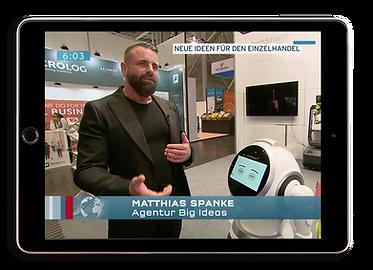 BIG IDEAS Matthias Spanke TV Appearance