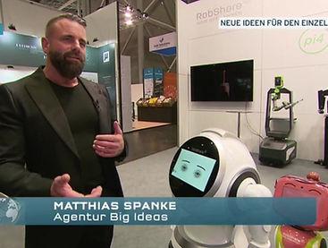BIG IDEAS' CEO Matthias Spanke speaks about the advantages of retail technologies