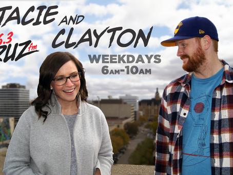 Clayton Kroeker on 96.3 Cruz FM!