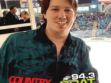 Brendan Pawliw on Country 97fm & The Goat 94.3fm!