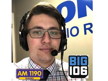 Austin Arvay on BIG 106