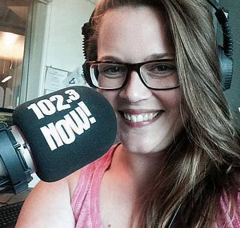 Rachel Day on 102.3 Now Radio!