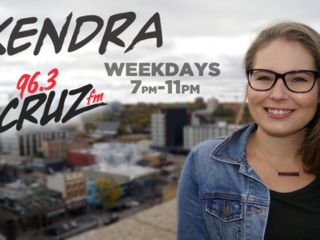 KENDRA on 96.3 Cruz FM