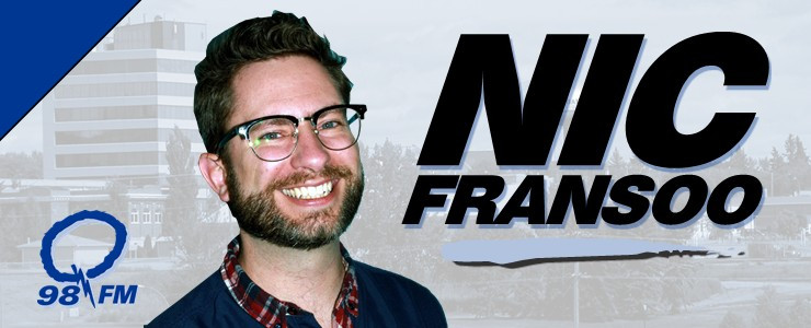 Nic Fransoo on Q98!