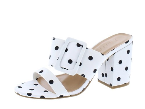 Polka Dot Buckle Slide
