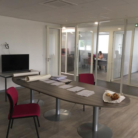 Rénovation de bureaux à Rambouillet I HVI