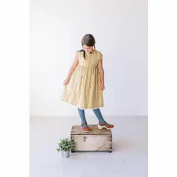 Cotton Gingham Pocket Dress