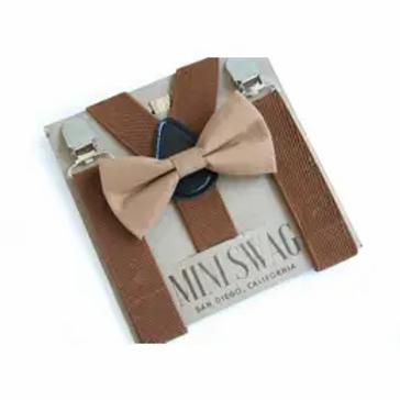 Coffee Bowtie + Suspenders